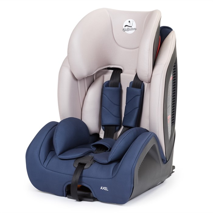 Автомобильное кресло Mr Sandman AXEL 9-36 кг Синий/Бежевый - фото 65415