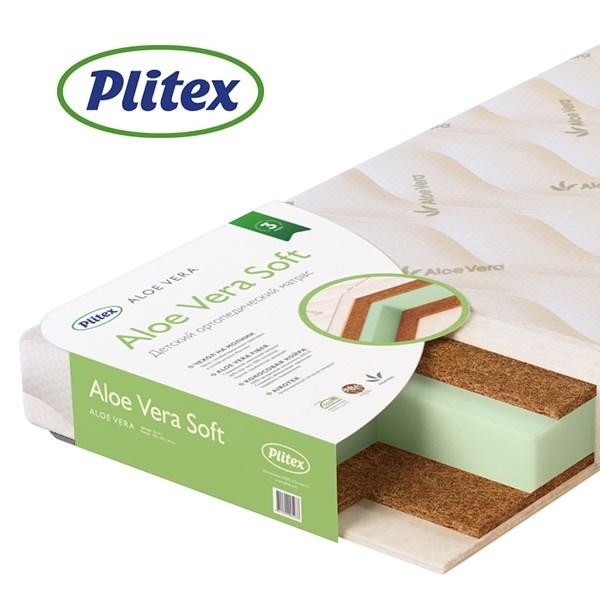 Матрац детский Plitex Aloe Vera Soft 1190х600х110 мм - фото 66746