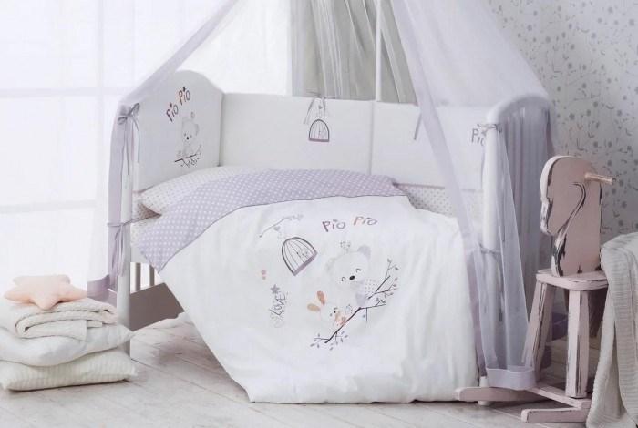 Комплект в кроватку Perina Pio Pio 4 предмета Pio Pio - фото 66800