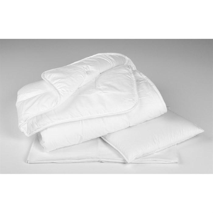 Комплект в кроватку Perina 2 предмета Одеяло/Подушка Белый - фото 66807