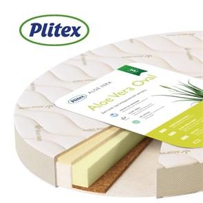 Матрац детский Plitex Aloe Vera Oval 900x650x100 мм